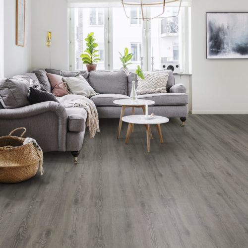 Nordsjö Idé & Design gulv tarkett starfloor click scandinavian dark grey
